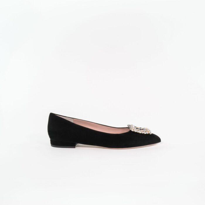 Designer Abenschuh Grace in schwarz bequem elegant