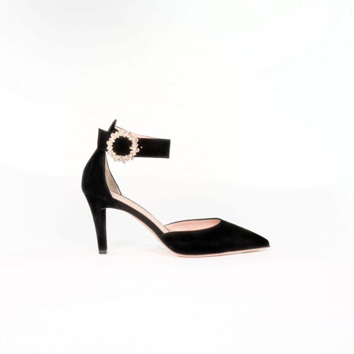 designer abendschuh schwarz sophie laure lay