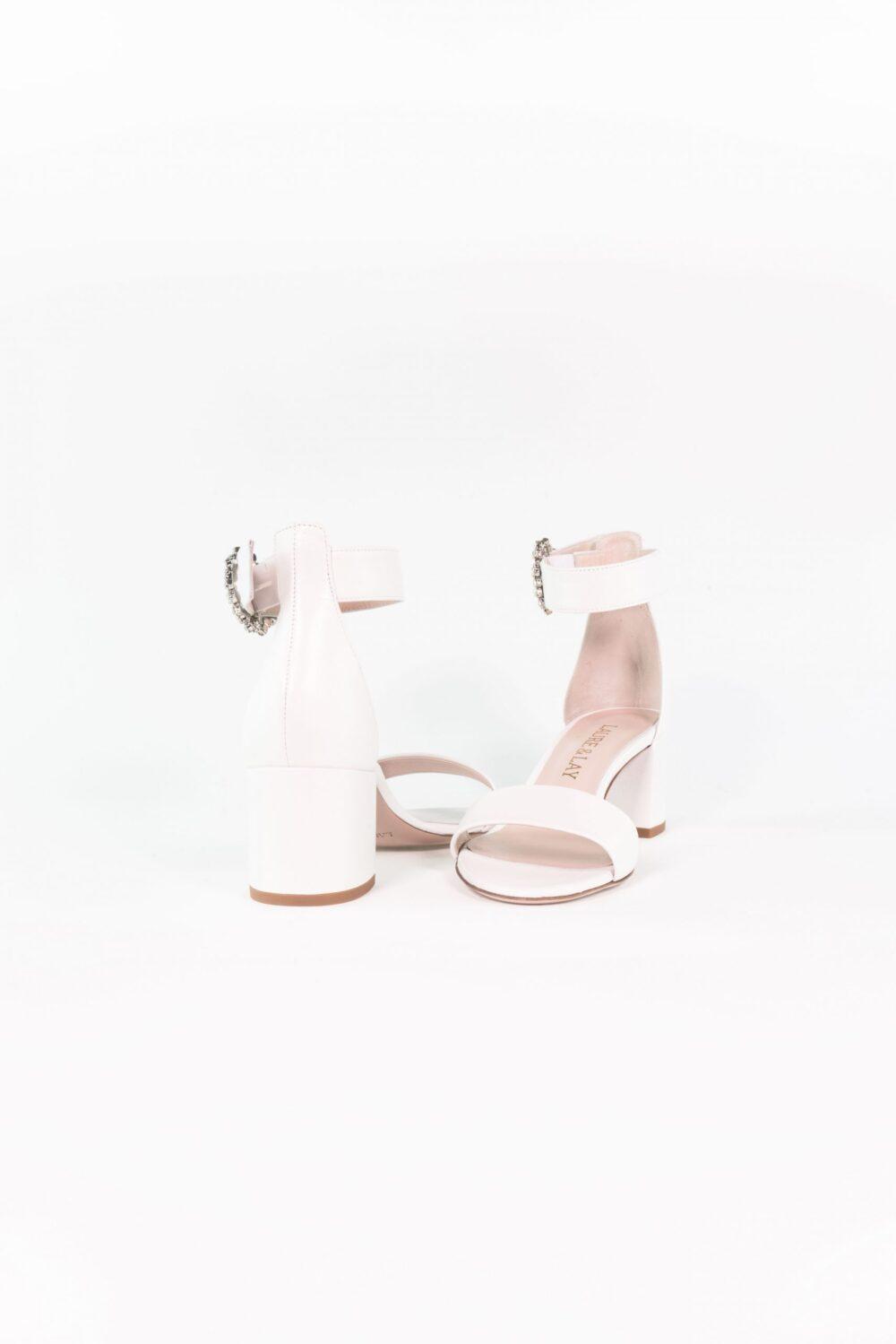 luxus brautschuh weiß absatz bequem emma