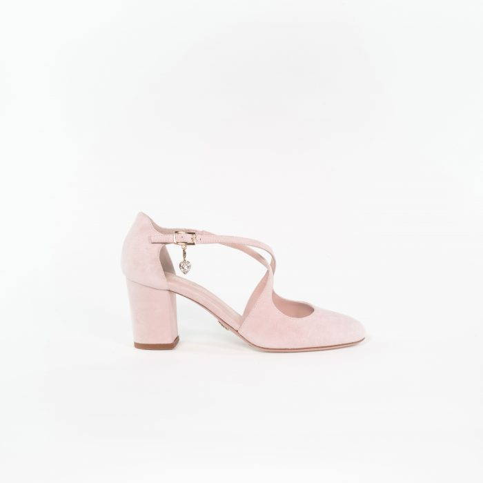 Brautschuh Jana in light rose