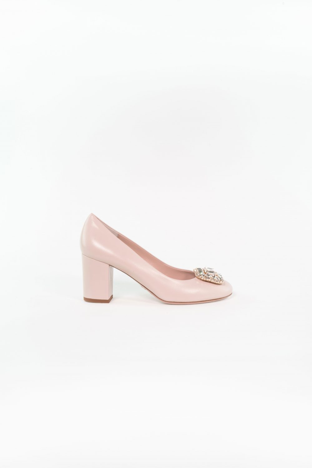 Brautschuh Jette in nude rose