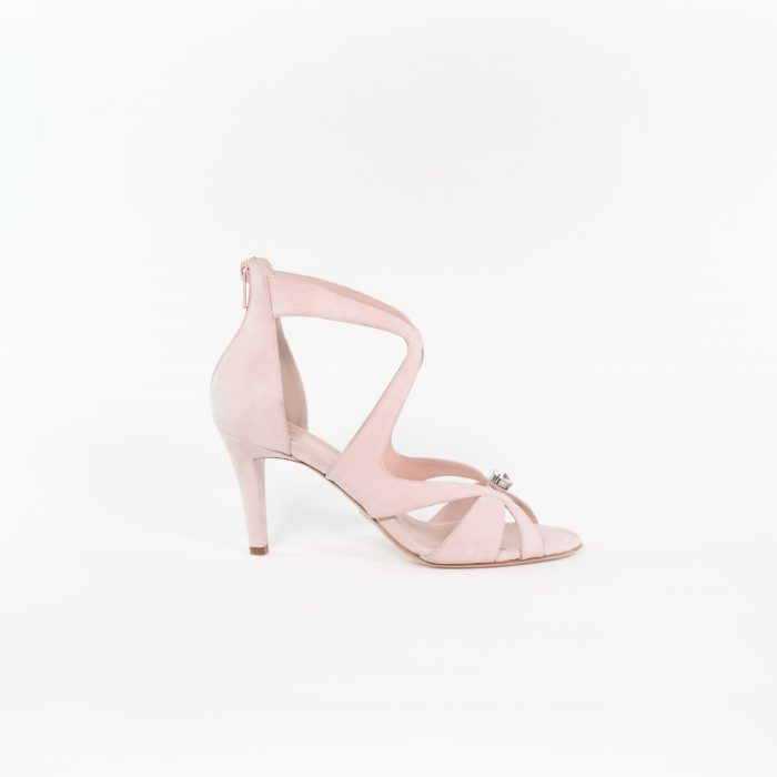 Brautschuh Lena in Light rose