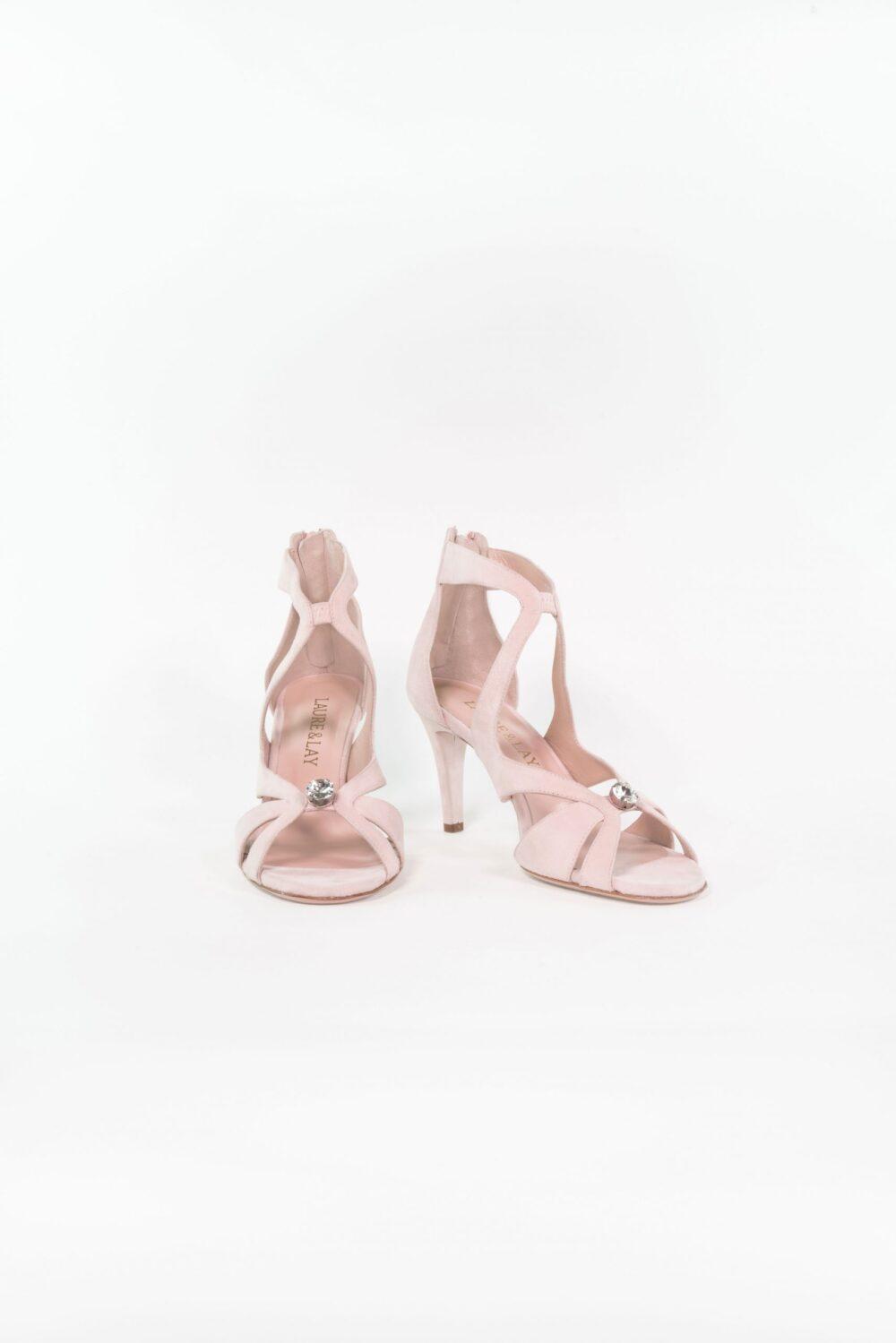 Designer Hochzeitsschuh Lena Light rose