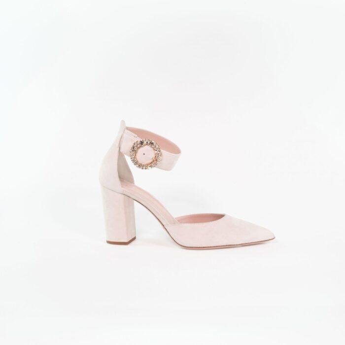 designer brautschuh noemi light rose