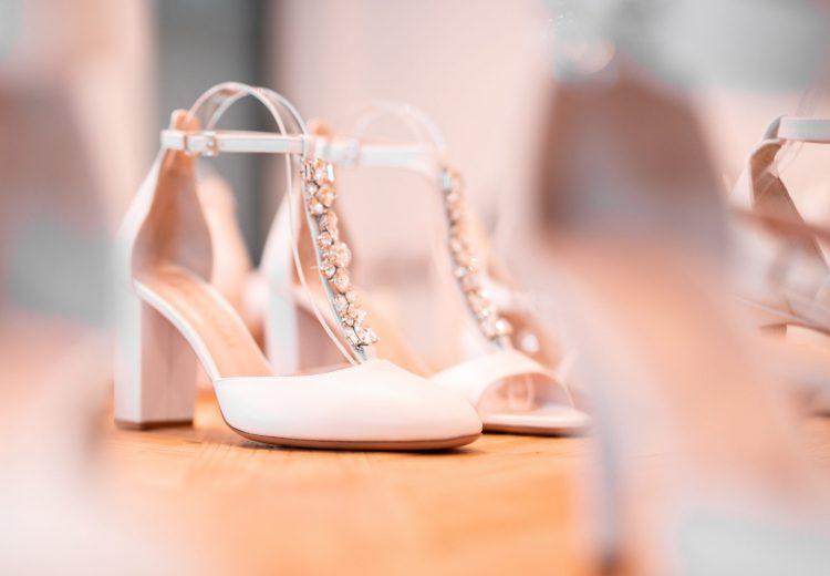 designer brautschuh weiß detail laure&lay