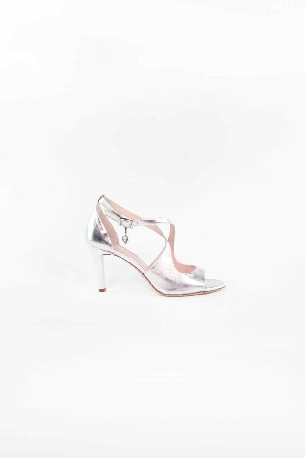 Sandale Leonie in silber